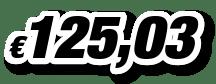 € 125,03