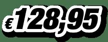 € 128,95