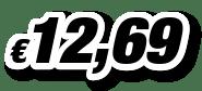 € 12,69