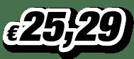€ 25,29