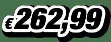 € 262,99