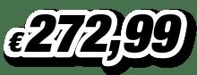 € 272,99