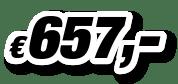 € 657,00