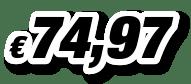 € 74,97