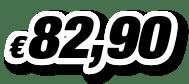 € 82,90